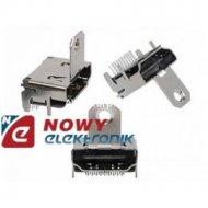 Gniazdo HDMI do mont.kątowe druk 19pin z uchwytem HD07