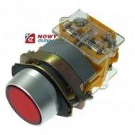 Przycisk LAS0A1Y11ZR stab. stab. czerw.IP67 22mm 1NO1NC/przełącznik