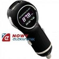Transmiter FM BLOW + Ładow. 1A USB/  miniaturowy
