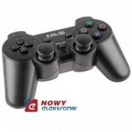 Pad bezprzewodowy PS3 i PC GAMER Dual Shock, Quer  PS2