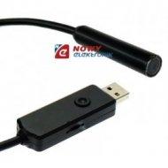 Kamera inspekcyjna USB 10mm z przewodem 20m (ENDOSKOP)