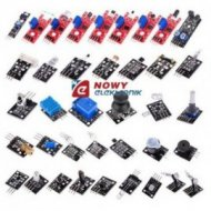 Zestaw 37 elementów do Arduino KLON