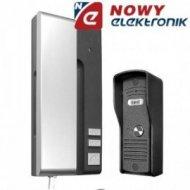 Zestaw domofonowy EURA ADP-30A3 UNO grafitowo-srebrny