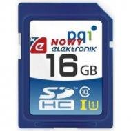 Karta pamięci SDHC 16GB PQI UHS class 10 z adapterem UHS-1