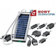Bateria słoneczna ładowarka 8k. do telefonów itp. Solarna 8 końc.