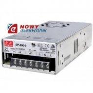 Zasilacz imp. 5V 40A SP-200-5 200W Przemysłowy 4,75-5,5V MEAN WELL