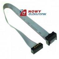 Kabel IDC10 ż/druk PCB 30cm połączeniowe do płytek stykowych