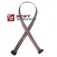 Kabel IDC10 żeńsko/żeński 40cm połączeniowy do płytek stykowych