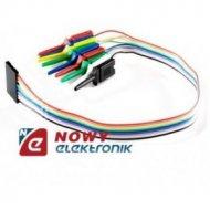 Kabel IDC10 męski z haczykami połączeniowy do płytek stykowych