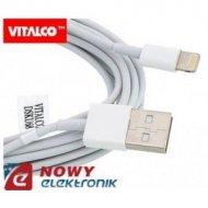 Kabel USB-Apple iPhone/8p 1m IPad