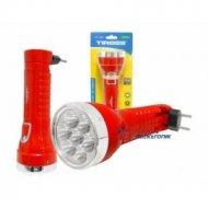 Latarka ręczna 7LED TS1120 ładow 230V z akum.czerwona TS-1120
