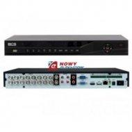 Rejestrator CYFR. BCS-DVR1602QII 16-kan./BNC/VGA/HDMI/LAN hybryda