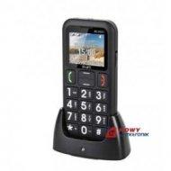 Telefon GSM M-LIFE ML0651 dual SIM/micro dla SENIORA stacja dok.