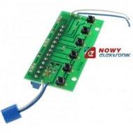 Płytka panela MIFON 6-NR kasety rozmównej jednorzędowej/4013100/