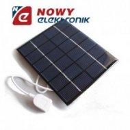 Bateria słoneczna 2W 6V OS6 USB 136x110x3mm(solarna/ogniwo)PANEL