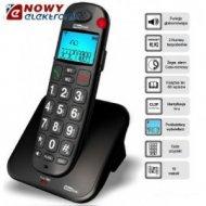 TELEFON MAXCOM MC6810 czarny bezprzewodowy
