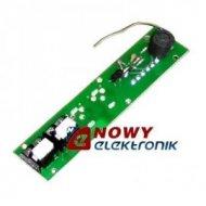 Listwa Rozmówna LR2 panela MIWI dwa przyciski oraz mikrofon