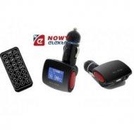 Transmiter FM BLOW SD/MMC czerw. USB/