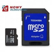 Karta pamięci micro SDHC 16GB TO M301 Class 10 UHS / TOSHIBA  z adapt. SD
