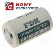Bateria CR14250SE   litowa 14,5x25mm AA/2 3V 900mAh bez wyprowadzeń