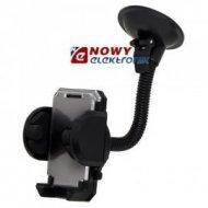 Uchwyt uniw. US-08 samochodowy 50-105mm długie ram.GSM/PDA/GPS/