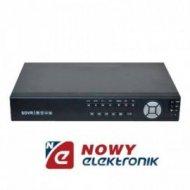 Rejestrator HVR-16/2 + IP 16-kan D1 25kl/s, 2 HDD
