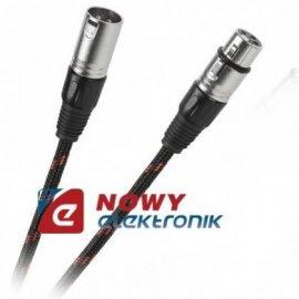 Kabel mikr.10m wtXLR3p gn.XLR3p canon