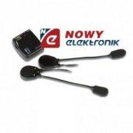 Interkom na motor skuter Kask CD/MP3/AUX Vellemn