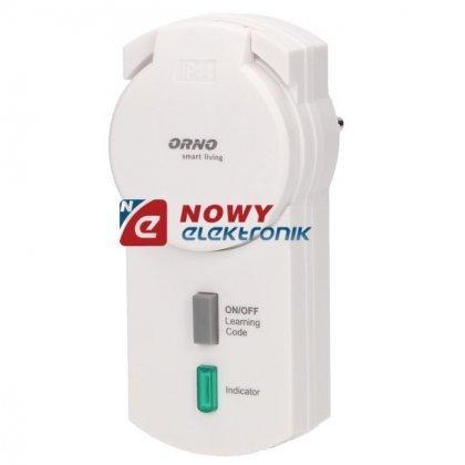 Gniazdo bezp.ze ściemn.IP44 1703 ORNO Smart Living  sieciowe