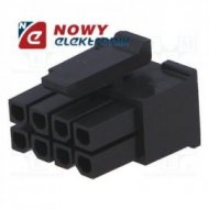 Wtyk Micro-Fit MX-43-025-0800 8p żeński /osłona bez pin  8pin raster 3mm