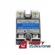 Przekaźnik półprz.SSRNC 440B  DC Input 3-32V DC, Output 40A 24V-440V AC