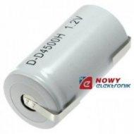 Akumulator do pakietu BYDD4500ZB 1,2V 4500mAh NiCd z blaszk. 59x32(58x33)