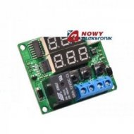 Regulator temp. -20+100°C NTC 12V 10A W1215 termostat uniwers