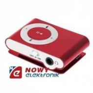 Odtwarzacz MP3 QUER z czyt.bord z czytnikiem kart bordowy
