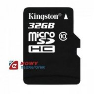 Karta pamięci micro SDHC 32GB K class 10 KINGSTON