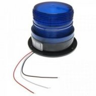 Sygnalizator bł. LED 12-24V nieb IP44 niebieski błyskowy