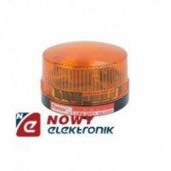 Sygnalizator bł. LED 220V AC pom IP44 pomaraćzowy błyskowy  okr