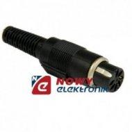 Gniazdo DIN 7p na kabel