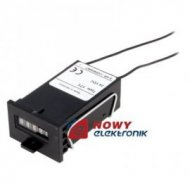 Licznik impulsów elektromagn.24V 24V DC  z kasowaniem