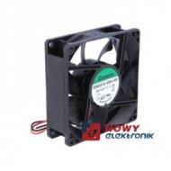 Wentylator 80x25 12V EE80251S1 S ślizg 1.7W 69.7m3h EE80251S1-A99