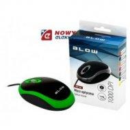 Mysz optyczna BLOW MP-20 zielona USB