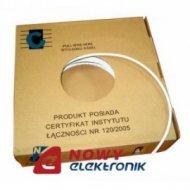 Przewód konc. 75Ω TV-SAT CU+CU /CABLETEC/150m-rolka/