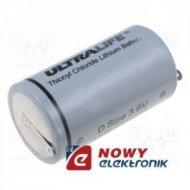 Bateria ER34615/ST 3,6V Lit. z blasz. 1,9Ah FI34*61mm (LSH)rozm.D R20