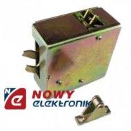 Elektrozaczep do mebli 12V metal 12V
