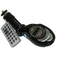Transmiter FM (SD/MMC,USB,JACK) + pilot