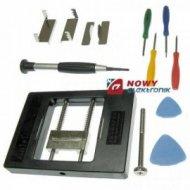 Uchwyt mont. do serwisu PCB + śr śrubowkręty  montażowy