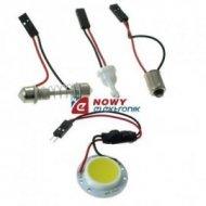 Lampa LED P30mm  12V W biały moduł dioda COB