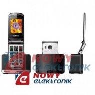 Telefon GSM MAXCOM MM822BB bia. dla Seniora SOS