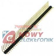 Wtyk PH40SRA1 5.1 1x40 pin kąt. złocony r-2,54