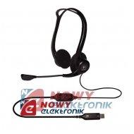 Słuchawki LOGITECH PC960 z mikr Headset